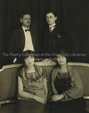 Formal portrait of Joyce family