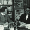 James Joyce with Sylvia Beach at Shakespeare and Company
