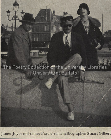 James Joyce, Nora Joyce and Stuart Gilbert, Zurich
