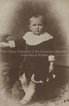 James Joyce, age 3