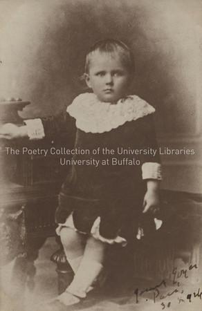James Joyce, age 3