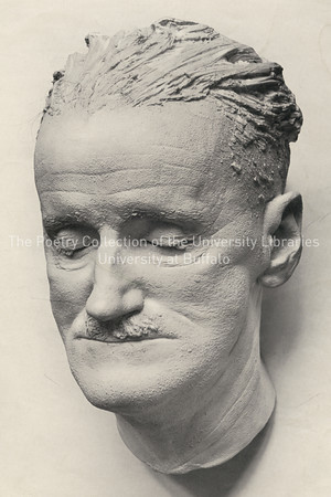 Photographs from the La Hune exhibition--Joyce's death mask