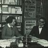 James Joyce with Sylvia Beach at Shakespeare and Company
