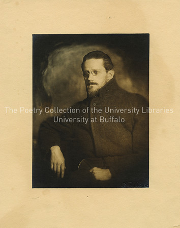 James Joyce, bearded, three quarter view, Zurich