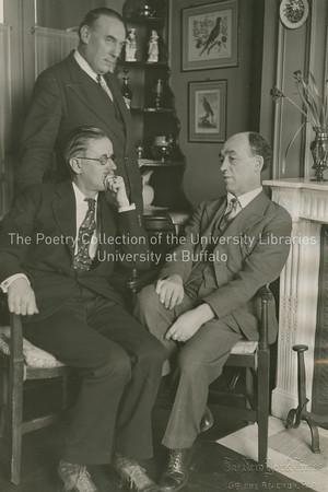 James Joyce, James Stephens and John Sullivan, Paris