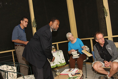 Richard, Lenard, Kate and Rich catch a word from Bob about the books.
