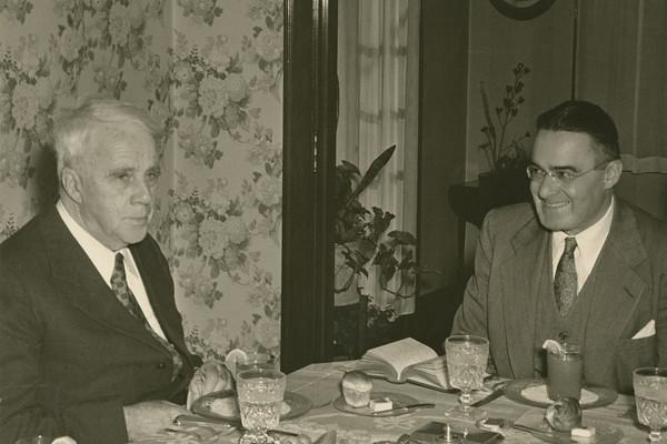 Robert Frost & Victor E. Reichert