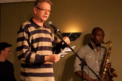 Curits Dunlap reads his pis**d off poem.
