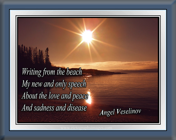 Sunrise, Poetry, Beauty, Angel Veselinov,  Photography, Rictographs Images