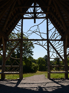 Tania Barricklo-Daily Freeman                      The gazebo at Poet's Walk  provides for a nice resting spot along the trail owned  and operated by Scenic Hudson. The trail  to the gazebo has been upgraded  and made more accessile for wheelchairs and visitors with different levels of abiity.  The park is located off of River Rd. in Red Hook
