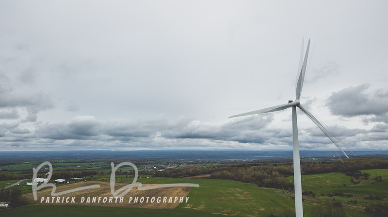 Capturing the movement of a turbine