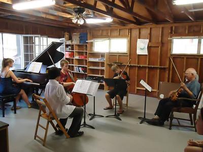 Joseph Silverstein Coaches the Beethoven Quartet