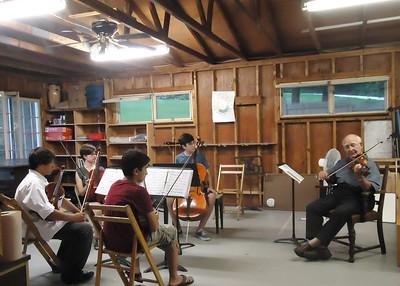 Joseph Silverstein Coaches the Prokofiev Quartet