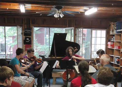 Joseph Silverstein Coaches the Dvorak American Quartet