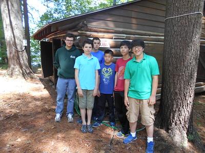 (left to right) Matthew (counselor), Inko, Lukas, Daniel, Jason, Thomas
