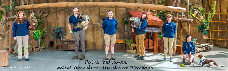 Point Defiance Zoo Wild Wonders theater