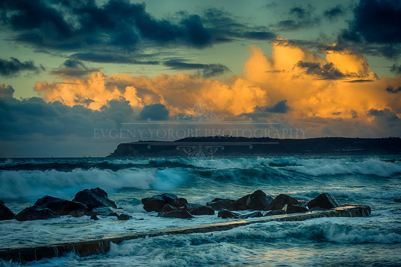 Stormy Coronado Beach