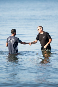 Baptisms at Crown Point - June 30th, 2014