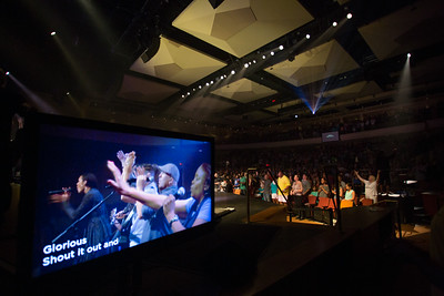 Live Baptisms on Stage at Point Loma Campus, July 6th, 2014