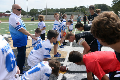 Point Pirates Challenger 2019 Opening Game, at Point Pleasant High School Varsity Football Field, in Poin t Pleasant Boro, NJ on 09/01/2019. (STEVE WEXLER/THE OCEAN STAR).