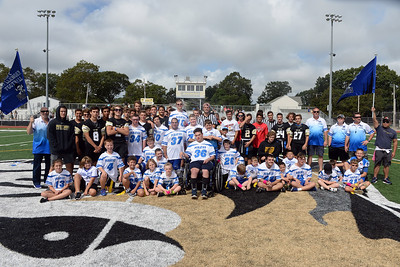 The Point Pirates Challenger Football Team held their 2019 season opening game at Point Pleasant High School Varsity Football Field, in Point Pleasant, NJ on 09/01/2019. (STEVE WEXLER/THE OCEASN STAR).