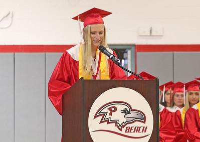 Salutatorian, Anna Kuzmic The 2019 Graduation Ceremony for Point Pleasant Beach High School in Point Pleasant Beach, NJ on 6/20/19. [DANIELLA HEMINGHAUS | THE OCEAN STAR]