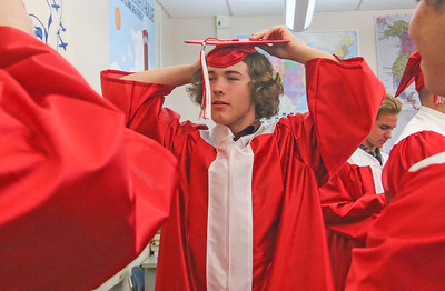 Eric Monticello The 2019 Graduation Ceremony for Point Pleasant Beach High School in Point Pleasant Beach, NJ on 6/20/19. [DANIELLA HEMINGHAUS | THE OCEAN STAR]