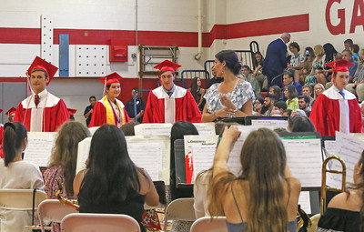 graduating band members The 2019 Graduation Ceremony for Point Pleasant Beach High School in Point Pleasant Beach, NJ on 6/20/19. [DANIELLA HEMINGHAUS | THE OCEAN STAR]