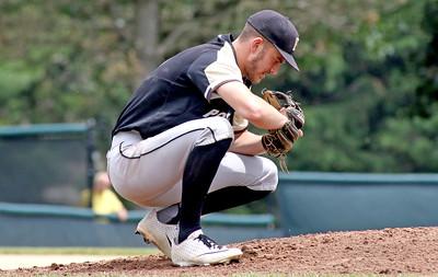 no.6, Nicholas Guzzi  Point Pleasant Boro baseball v/s Pascack Hills in the NJSIAA Group II Final in Hamilton, NJ on 6/8/19. Final 2-0 Pascack Hills. [DANIELLA HEMINGHAUS | THE OCEAN STAR]