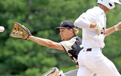 no.24, Paul Franceschini  Point Pleasant Boro baseball v/s Pascack Hills in the NJSIAA Group II Final in Hamilton, NJ on 6/8/19. Final 2-0 Pascack Hills. [DANIELLA HEMINGHAUS | THE OCEAN STAR]