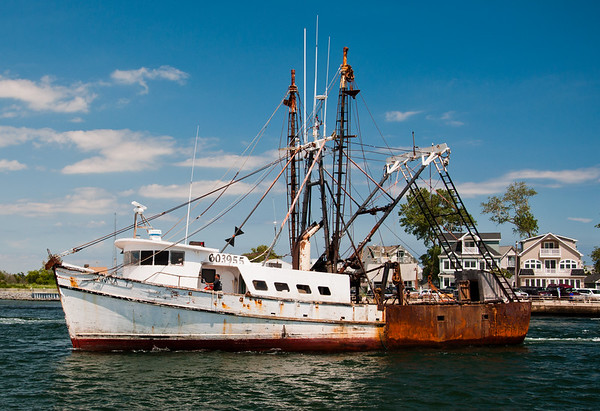 Fishing Vessel Anna T. Manasquan Inlet, Point Pleasant, NJ
