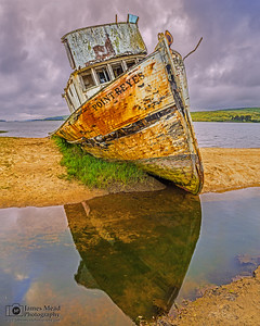 """Expired,"" Point Reyes Shipwreck, Tomales Bay, Point Reyes National Seashore, Inverness, California"