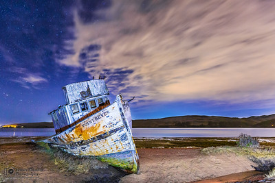 """Deserted Dreams,"" Point Reyes Shipwreck, Tomales Bay, Point Reyes National Seashore, Inverness, California"