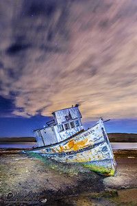 """Cast Away,"" Point Reyes Shipwreck, Tomales Bay, Point Reyes National Seashore, Inverness, California"