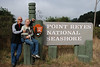 Judy, Maura and Bob at Point Reyes 10-18-10