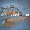 Old Point Reyes Boat, Inverness