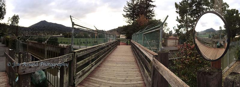 Corte Madera Creek Footbridge
