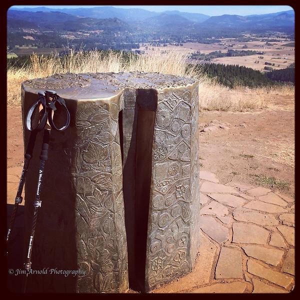Jed Kesey Memorial Sighting Pedestal