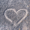 Gravel Heart - Corte Madera Creek Bikepath