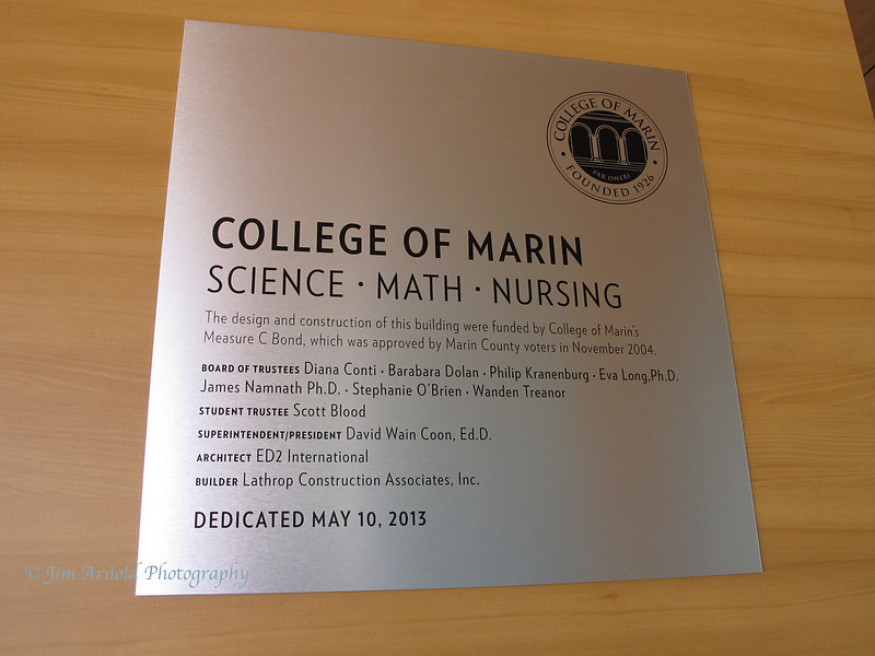 Science-Math-Nursing Ribbon Cutting