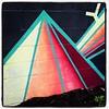Pyramidal Colorful Street Art