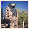 Black Bear Sculpture - Weed, CA