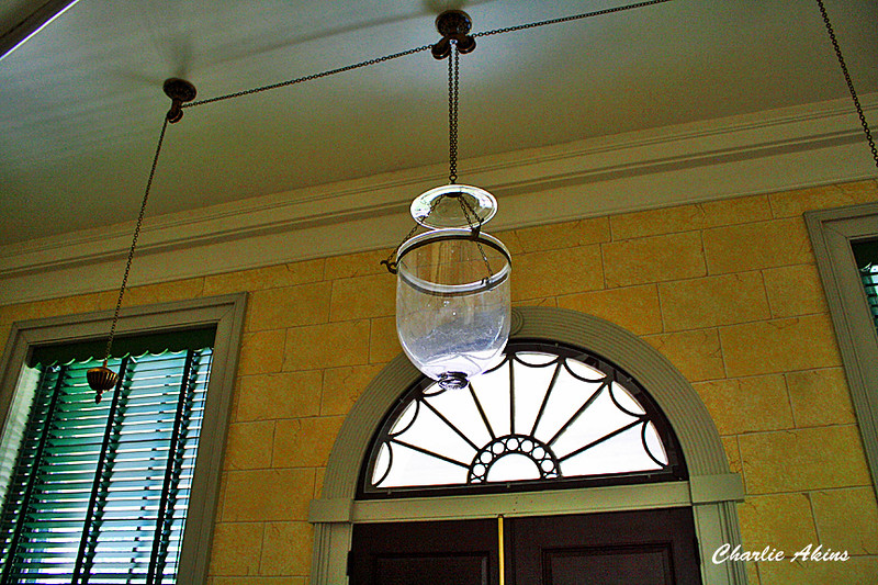 Whale oil was used for lighting.