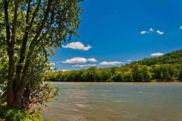 View of Potomac River, Point of Rocks, Maryland