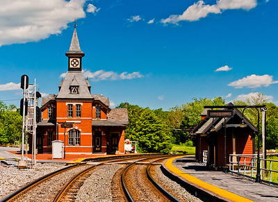 Point of Rocks Railroad Station, Maryland