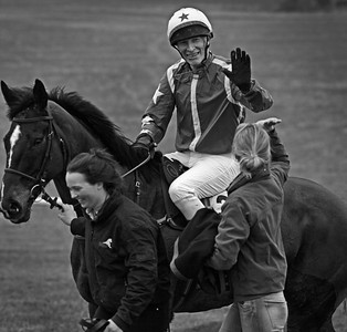 Winners' enclosure, Barbury point-to-point