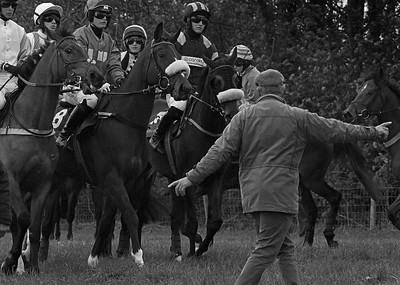 At the start, Mollington point-to-point