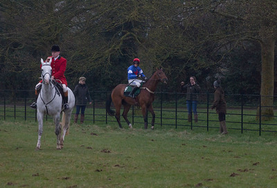 Horse refuses to race, Andoversford point-to-point