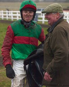 Winners' enclosure, Larkhill point-to-point