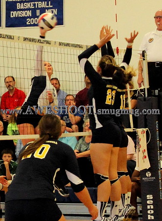 Point vs Truett Mcconnell Volleyball